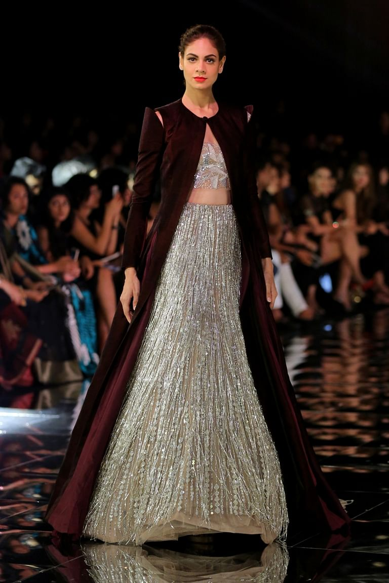 Alia Ranveer Walk For Manish Malhotra In A Muted Sensual Affair
