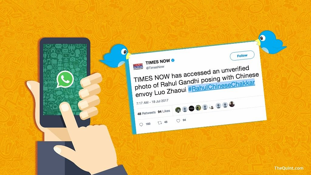 Instead of using old pictures as breaking news, Times Now and Republic TV will do well to remind the government of the promises it's made.