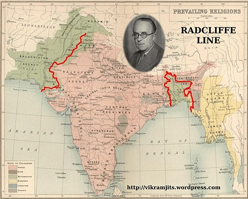 Did Radcliffe Regret the 'Bloody' Line He Drew Dividing Indo-Pak?