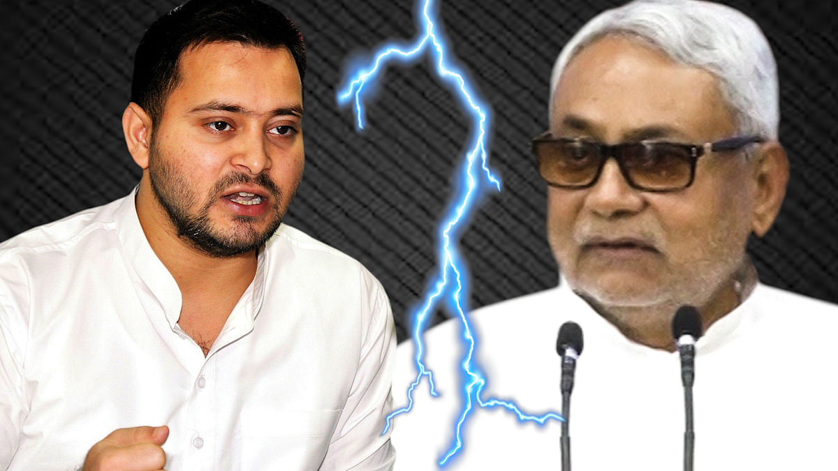 Being compared to Tejashwi Yadav doesn't help Nitish Kumar's case. Remember he was seen as a challenger to Modi five years ago.