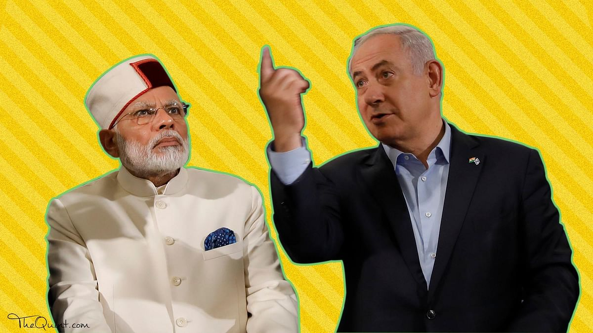 Modi's visit to Israel was marked by optics with few deliverables and marking India's departure on Palestine policy.