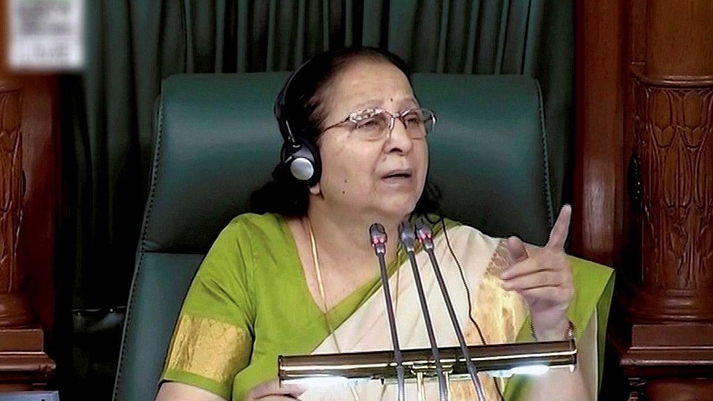 'Don't Want to Contest Elections,' Says LS Speaker Sumitra Mahajan