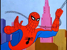 Spider-Man appeared on TV for the first time in a 1967 animated series.