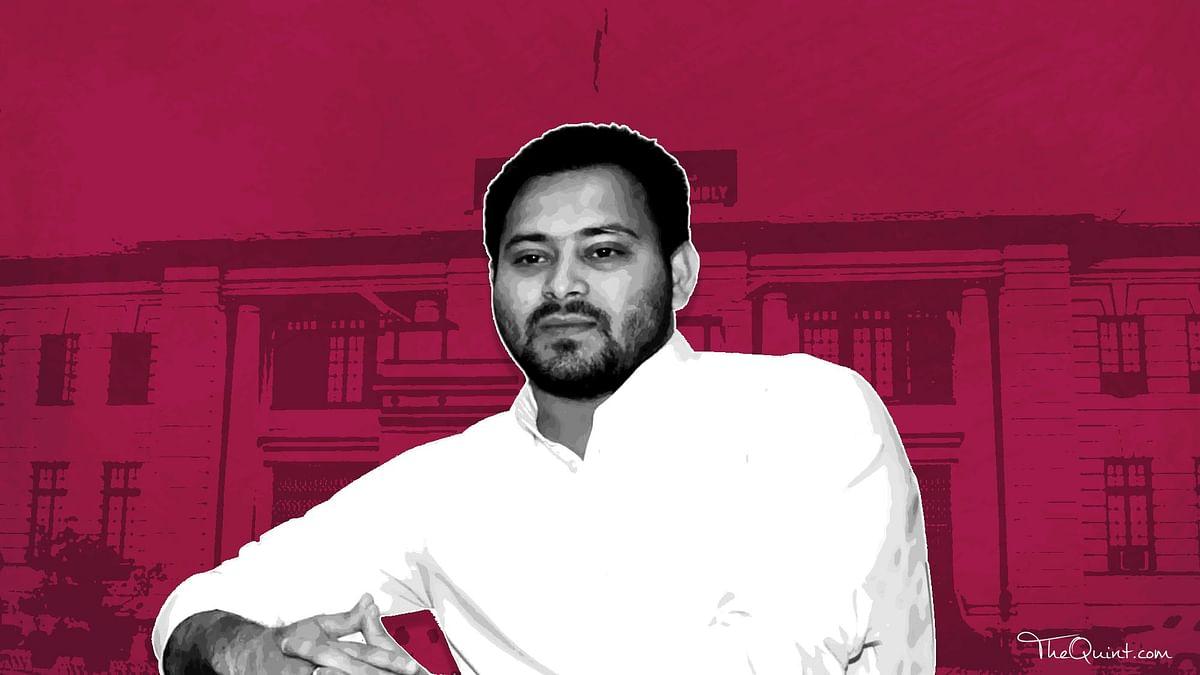 Bihar Deputy CM and Lalu Prasad Yadav's son Tejashwi Yadav.