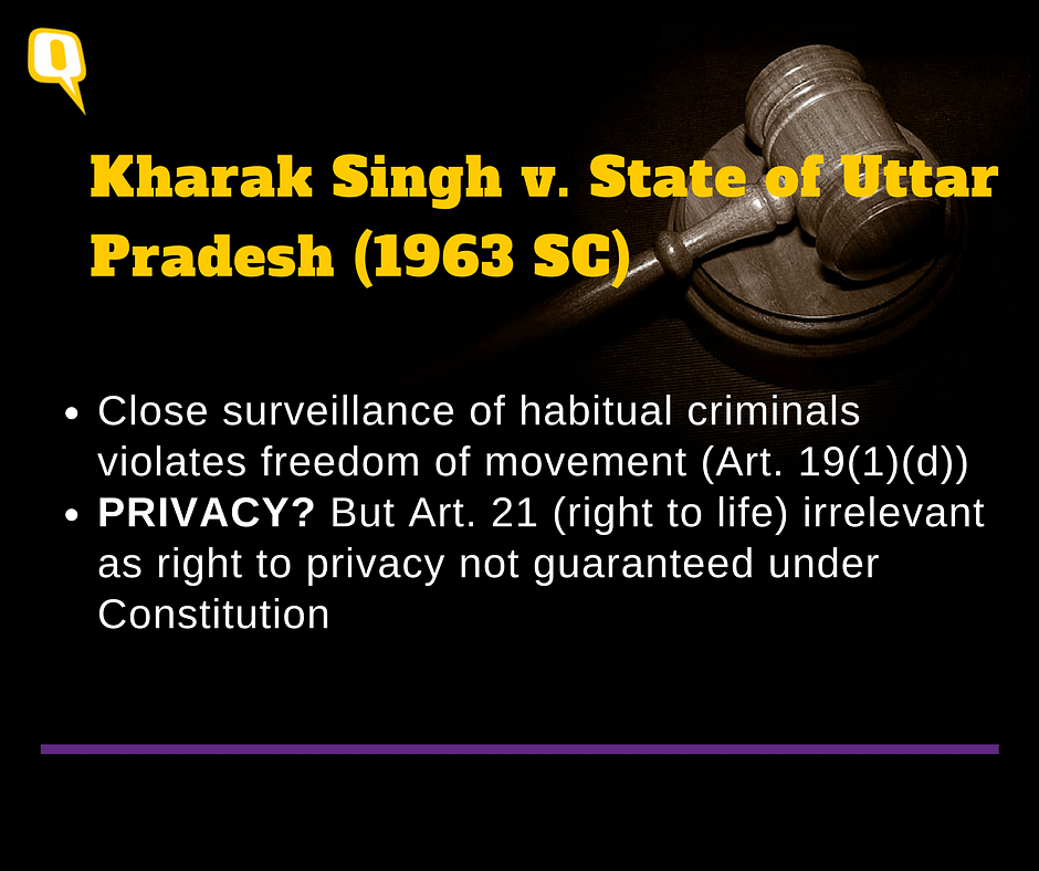 Right to Privacy: SC to Make History, But Maybe Not In a Good Way