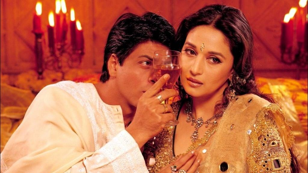 Shah Rukh Khan and Madhuri Dixit in <i>Devdas.</i>