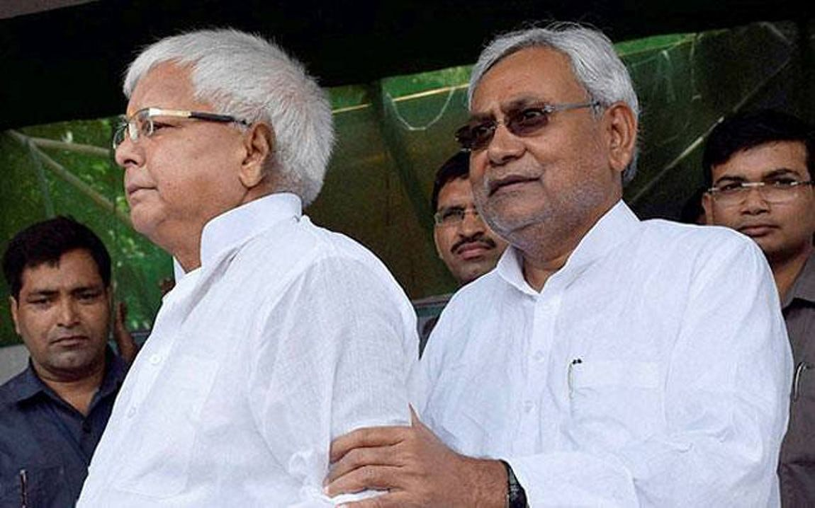 When Lalu and Nitish came together in Bihar.