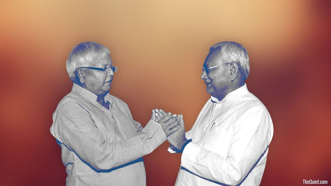Constitution of the Maha coalition in Bihar elections