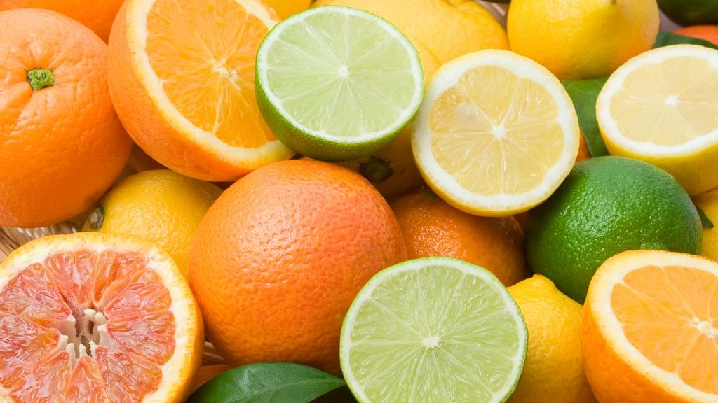 Citrus fruits such as orange, lemon are great stress-relievers.