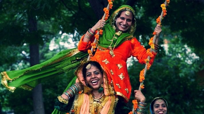 All About Teej, the Festival Which Ushers in the Monsoons