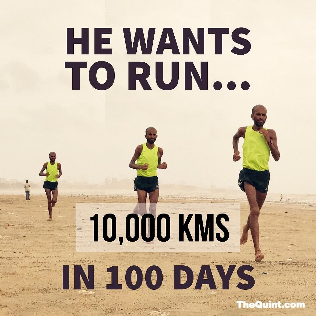 An Indian On Mission Impossible: To Run 10,000 km In 100 Days