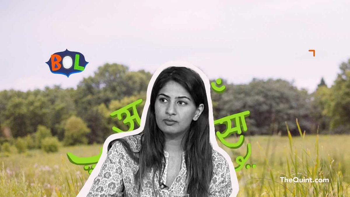 My Hindi is Indian.