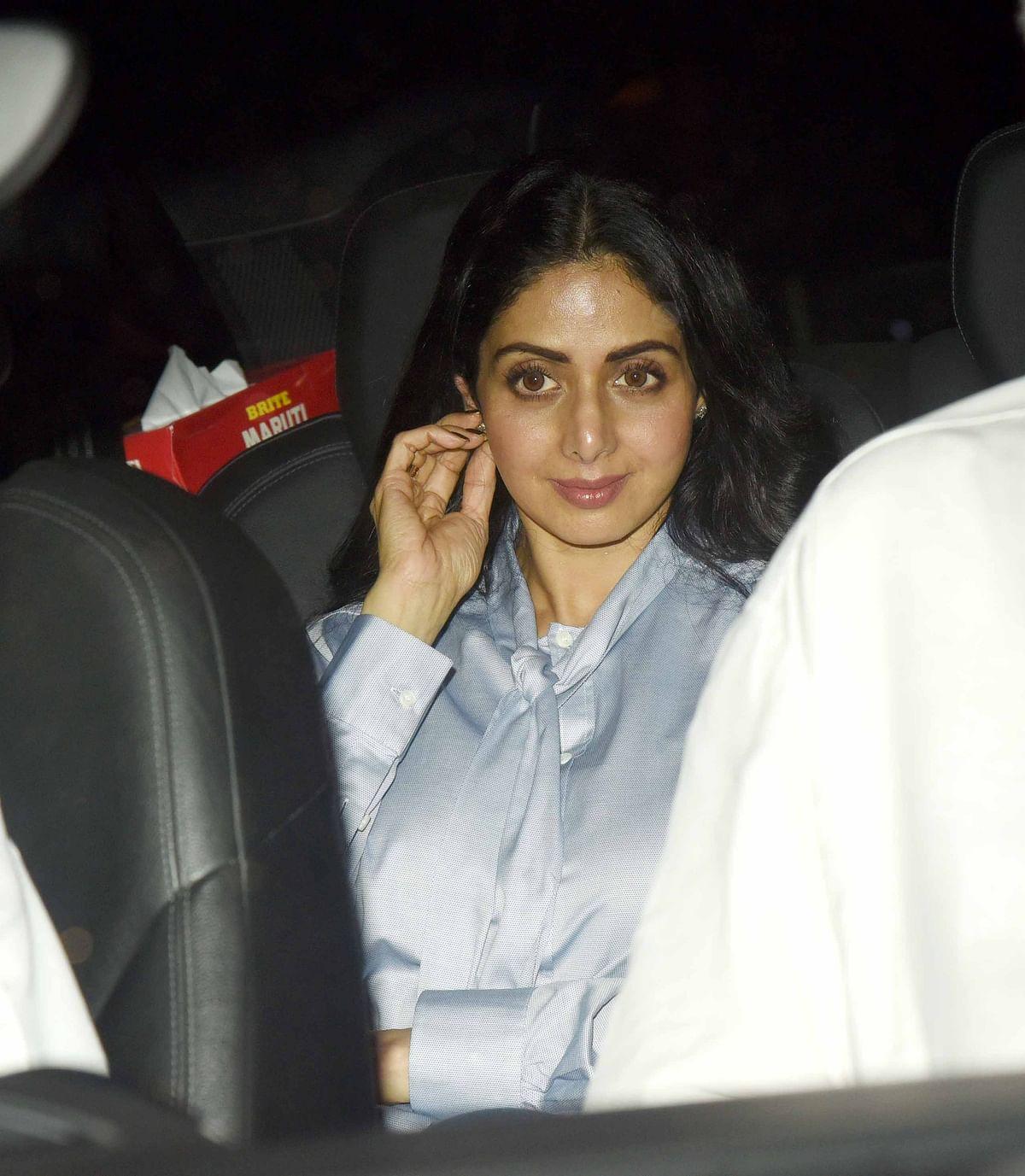 <i>Mom </i>is Sridevi's first big release after <i>English Vinglish.</i>