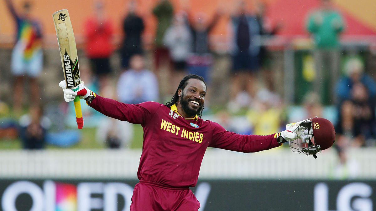 Chris Gayle is in West Indies' T20 squad that will play against India on 9 July. (Photo: AP)