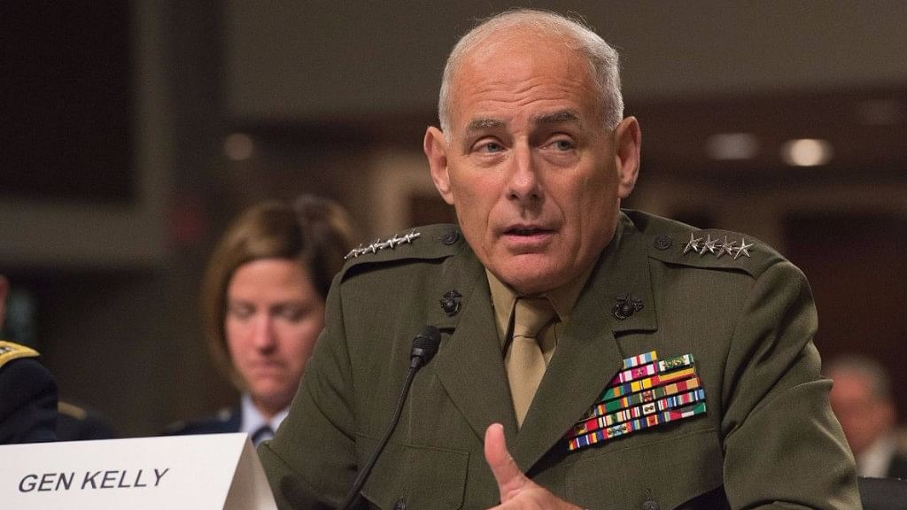 A file photo of John Kelly.