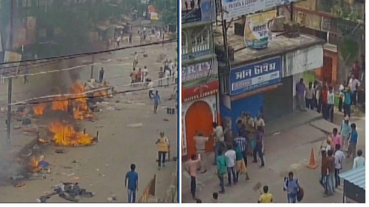 Adivasi Rally Turns Violent, Buildings Set on Fire Raiganj