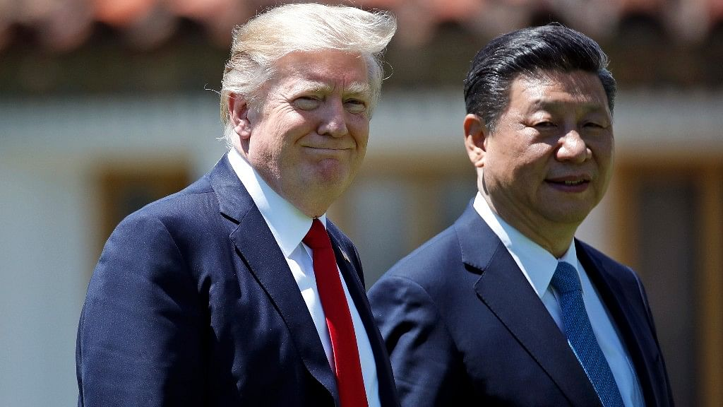 File photo of US President Donald Trump and Chinese President Xi Jinping.
