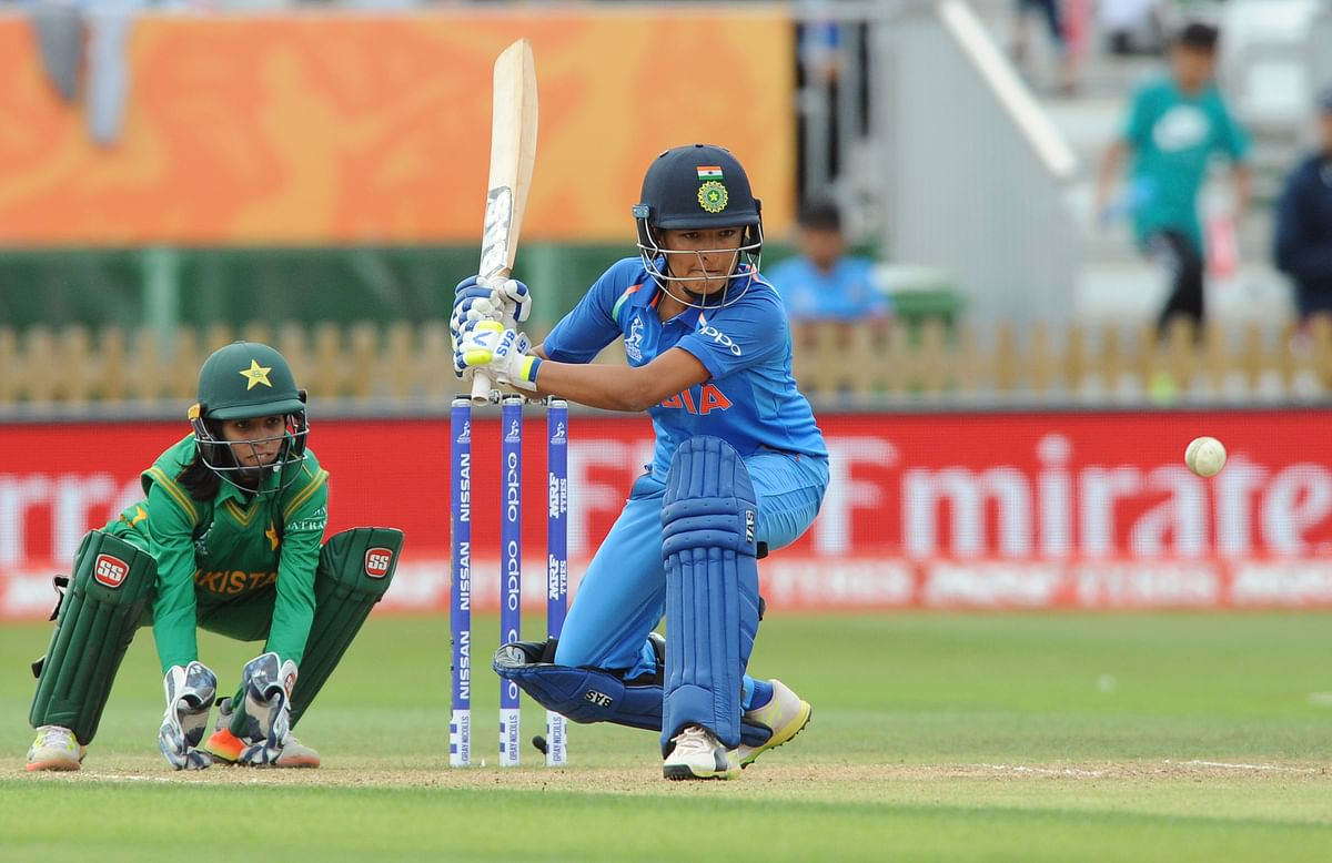 Sushma Verma scored 33 off 35 against Pakistan in the Women's World Cup.