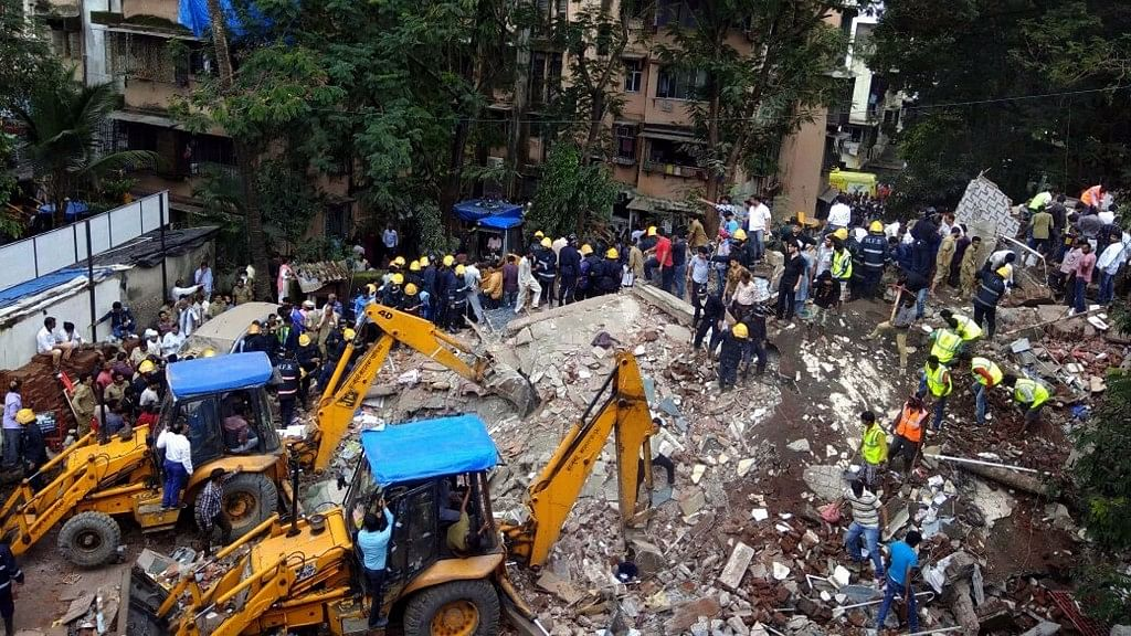 Ghatkopar building collapse.