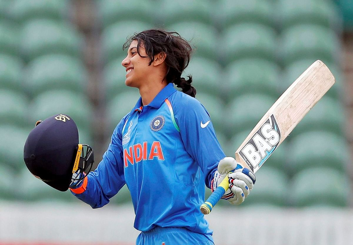The talented young lass Smriti Mandhana has been spectacular at the top. (Photo: AP)