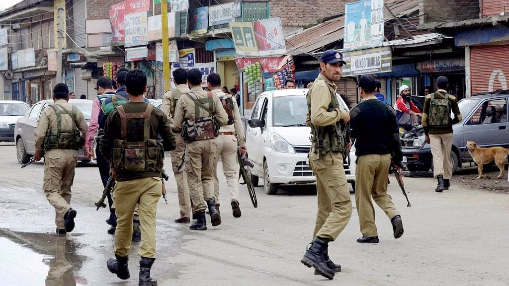 File photo of Jammu and Kashmir Police.