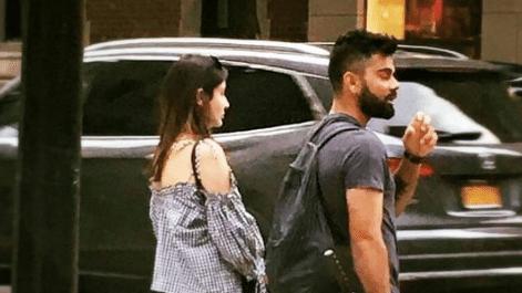 Virat Kohli & Anushka Sharma in New York City.