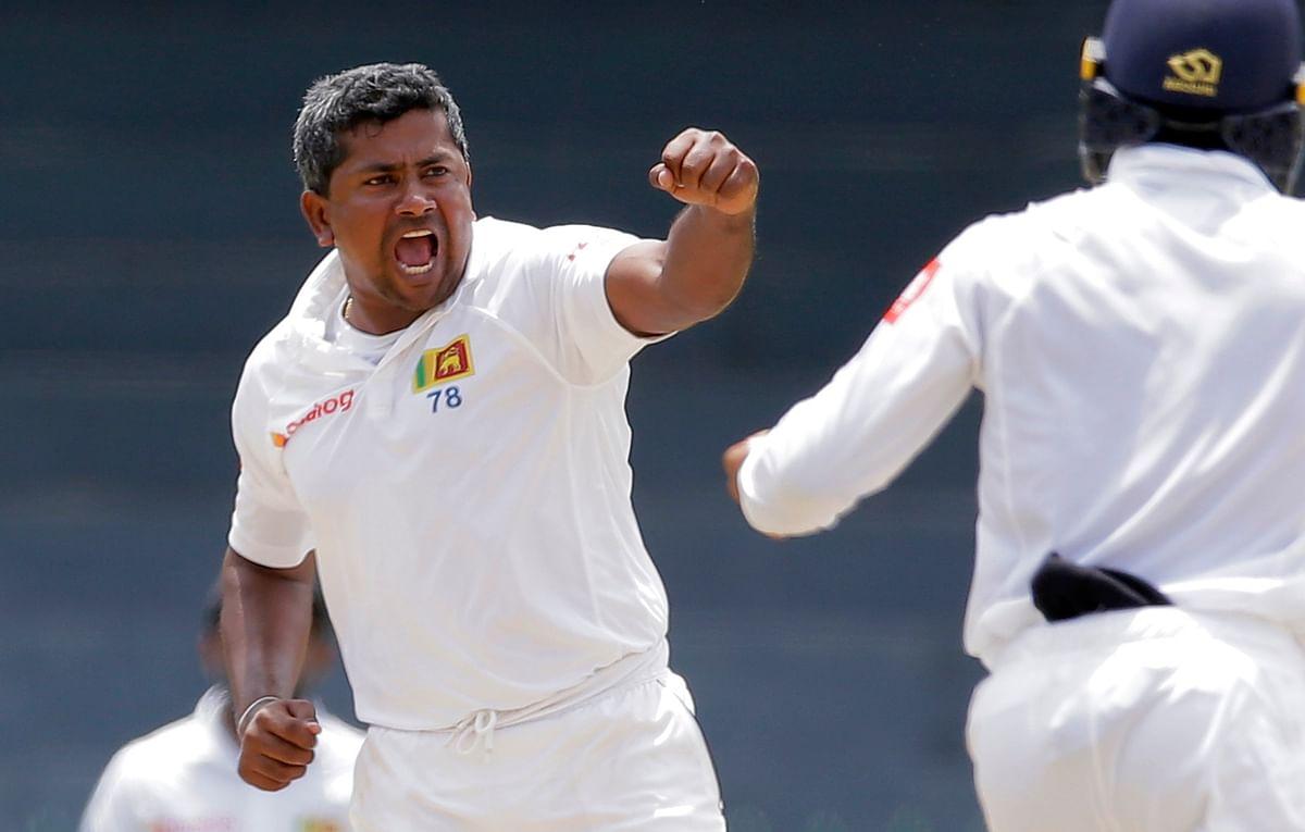 Sri Lanka spin spearhead Rangana Herath was named player of the series.