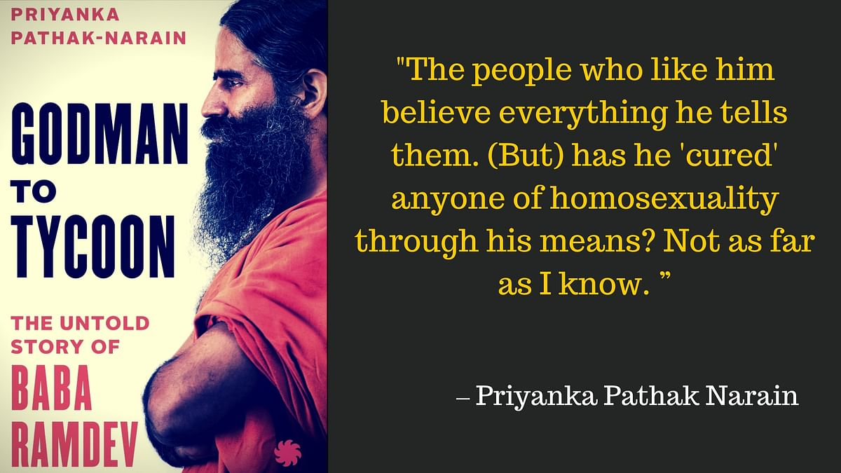 Here's Why Ramdev Doesn't Want You to Read the Book About His Life