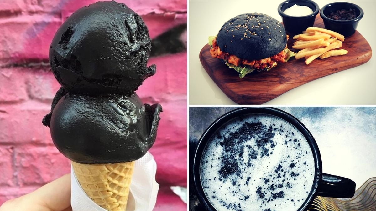While the wave of blackness may have hit Instagram this year, black dishes have been around in India since 2015!
