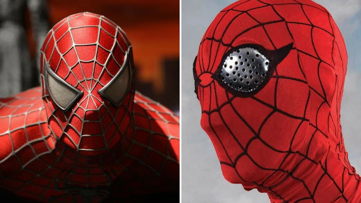 As you can see, Tobey Maguire's Spider-Man (Left) came a long way from Nicholas Hammond's tacky Spider-Man.