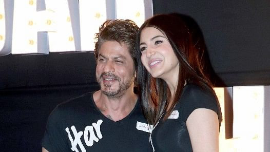 Shah Rukh Khan and Anushka Sharma.