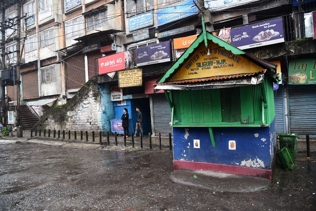 In Photos: Silence Cloaks  Darjeeling as Strike Continues