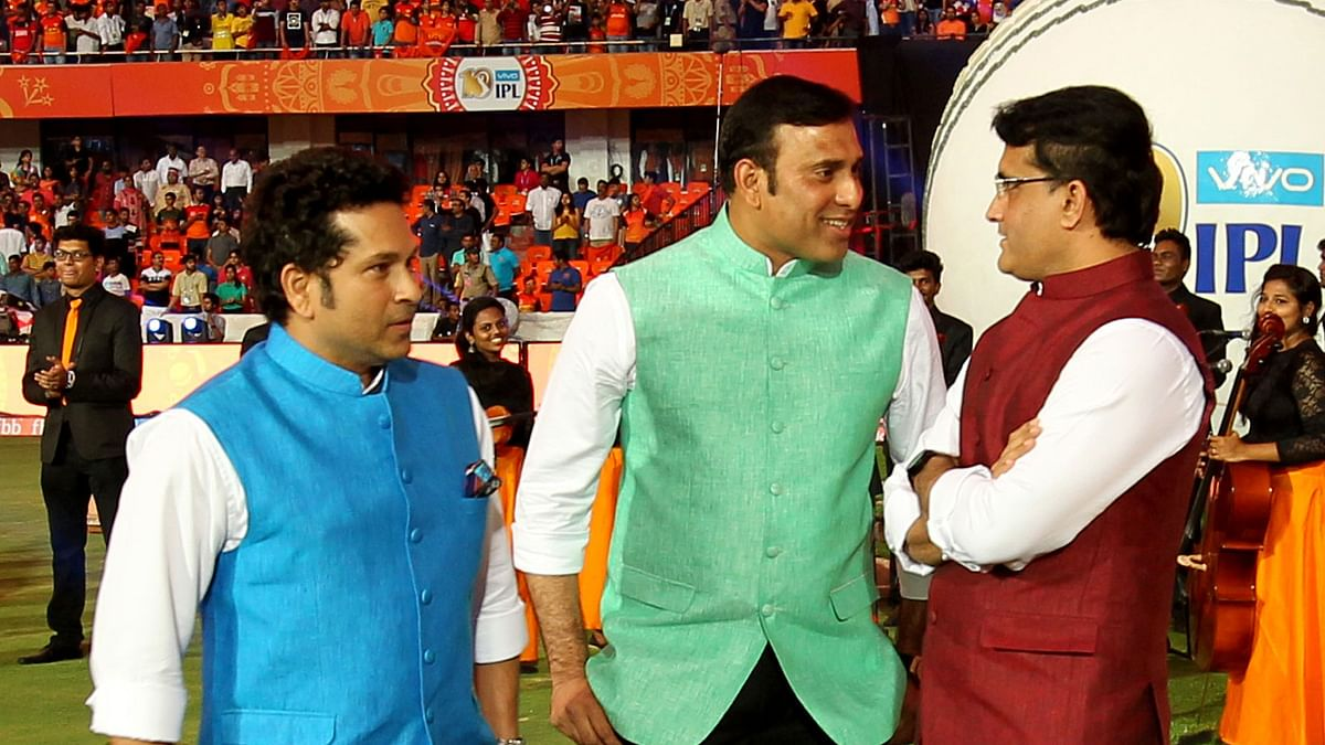 File photo of Sachin Tendulkar (L), VVS Laxman (C) and Sourav Ganguly (R) who are members of the BCCI's CAC (Cricket Advisory Committee)