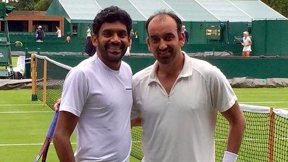 File photo of Purav Raja and Divij Sharan.