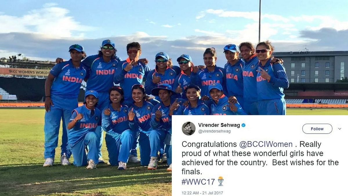 India will now face England in the finals of the ICC Women's World Cup.