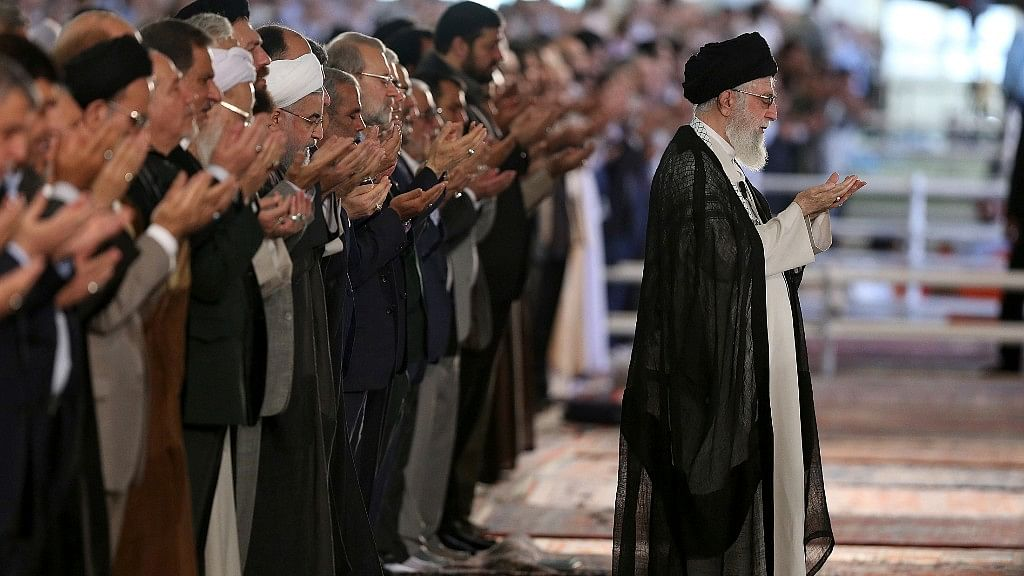 Iranian supreme leader, Ayatollah Ali Khamenei; While Netanyahu views Iran as an existential threat, India looks at it as an important ally.