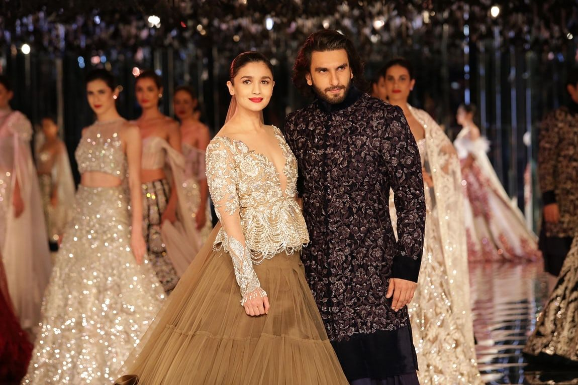 Alia and Ranveer turn showstoppers.
