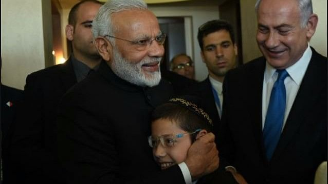'Baby' Moshe, the Boy Who Survived 26/11 Meets PM Narendra Modi