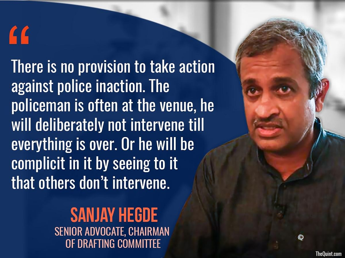 Sanjay Hegde speaks to The Quint.