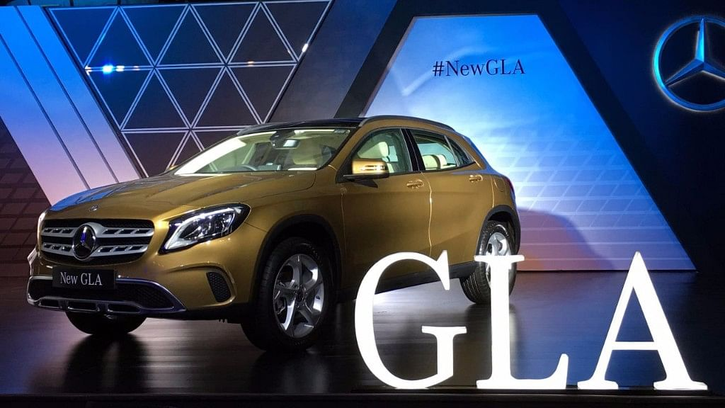 The Mercedes GLA gets subtle changes to keep it fresh. (Photo: <b>The Quint</b>)