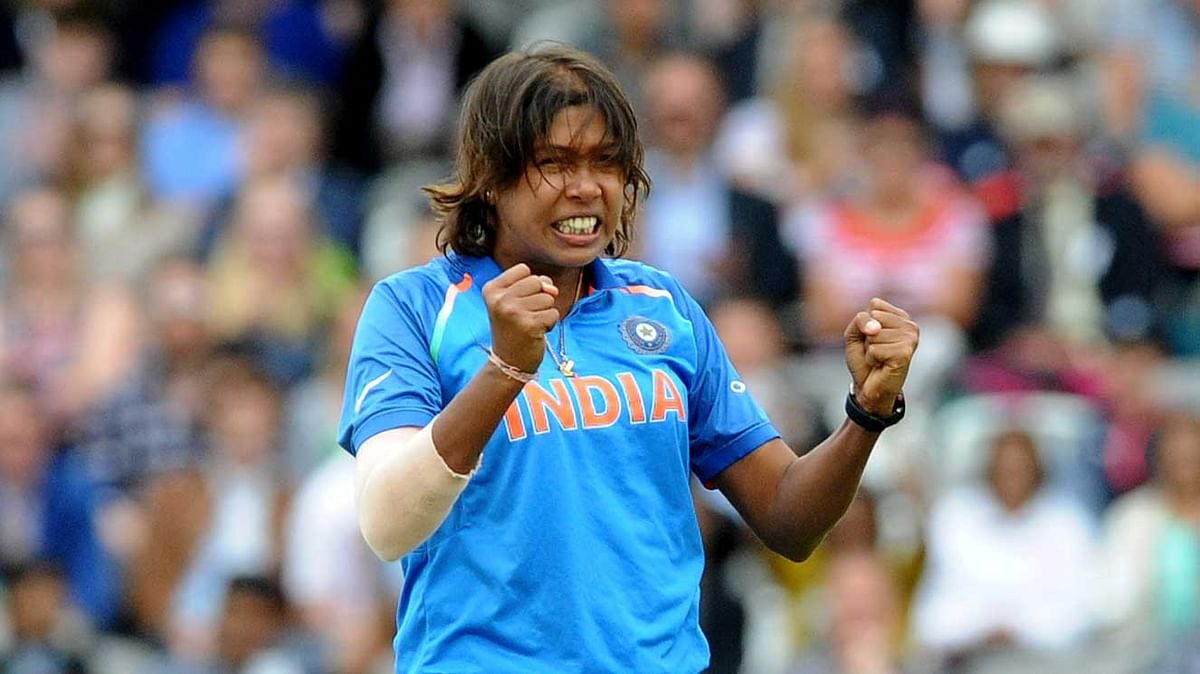 Jhulan Goswami was rested for the third ODI.