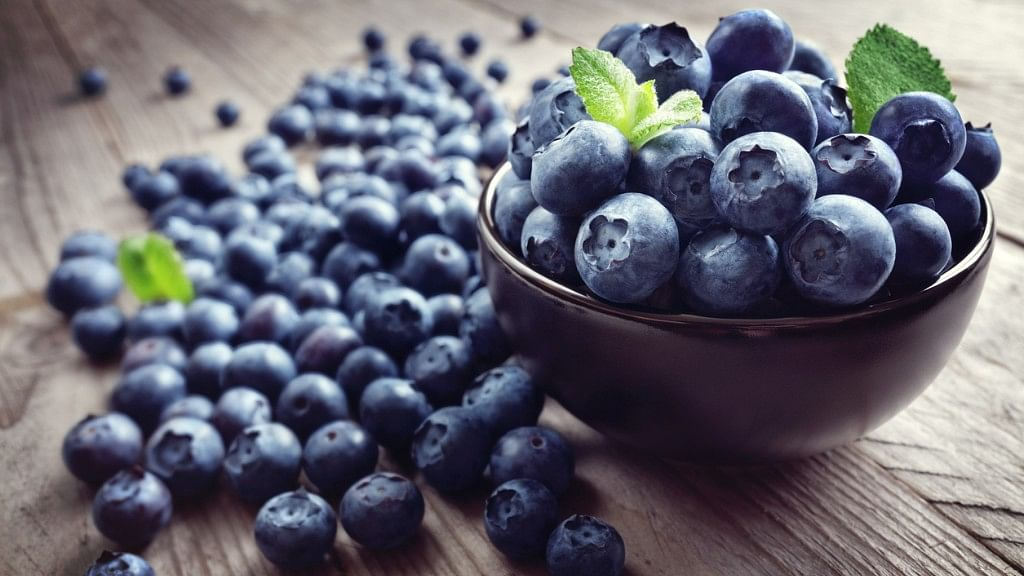 Blueberries are known to be stress-relievers.