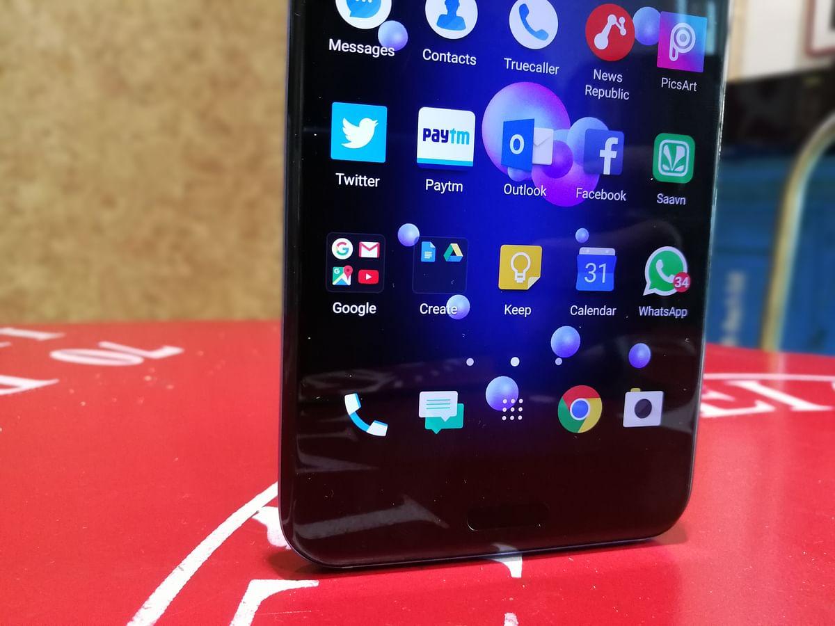 HTC U11 runs on Android 7.0 Nougat