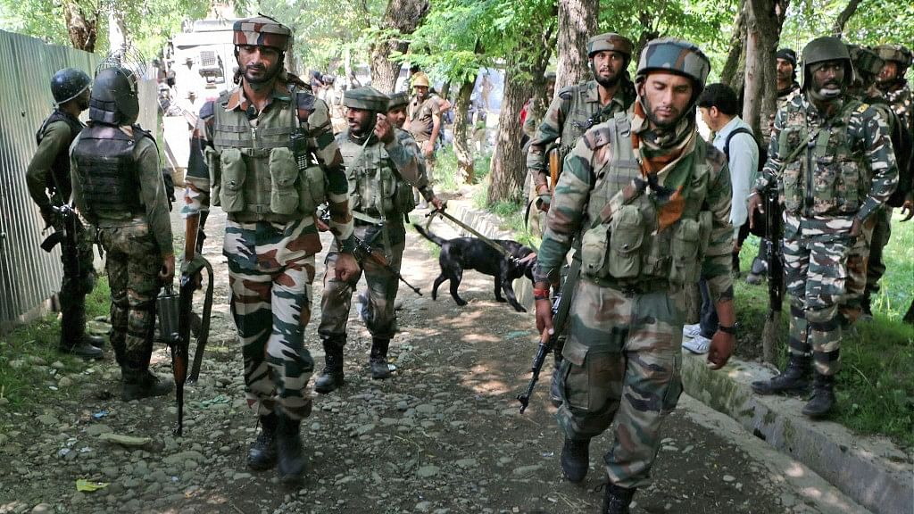 Four Militants Killed in Encounter With Forces in J&K's Shopian
