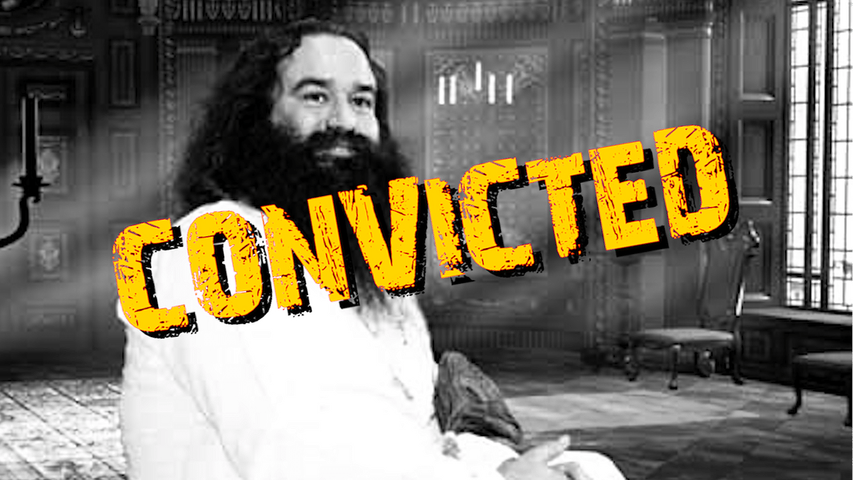 Ram Rahim Put Away, but Only 1 in 4 Rape Accused Convicted in 2016