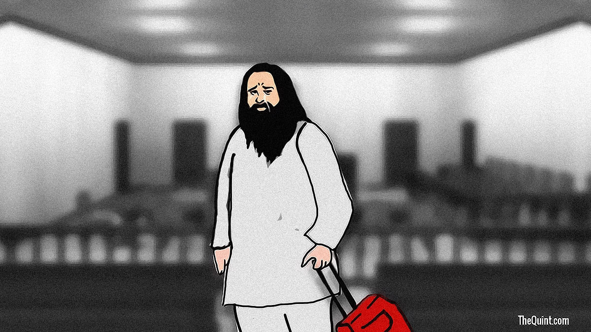 In true filmy fashion, Ram Rahim plotted to cut and run from the court after his conviction.