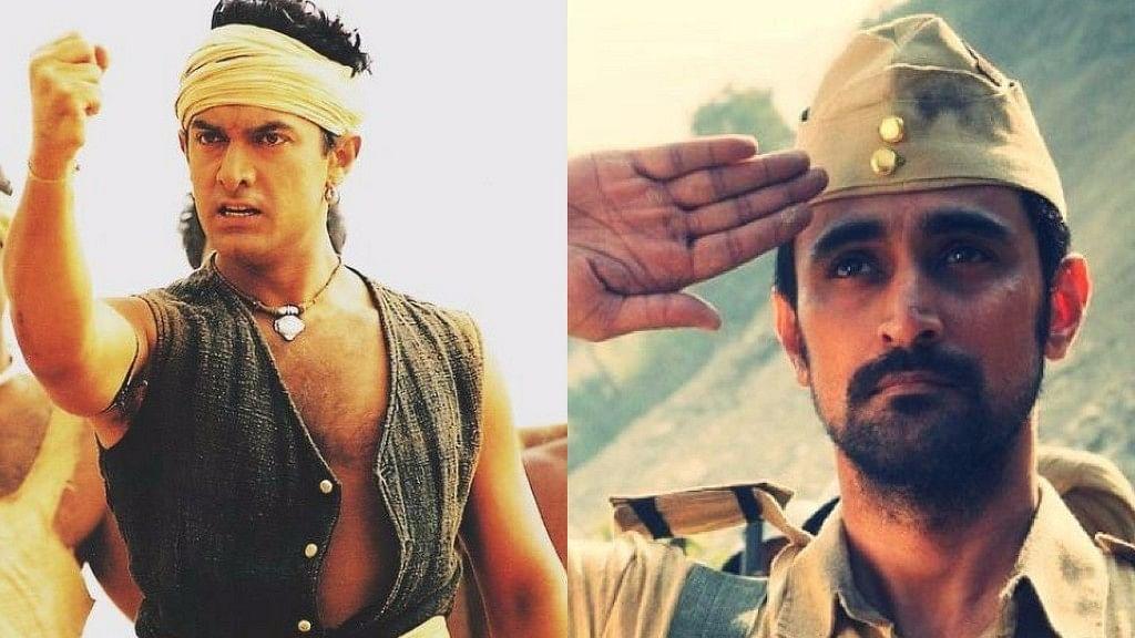 Aamir Khan in Lagaan and Kunal Kapoor in Raag Desh.