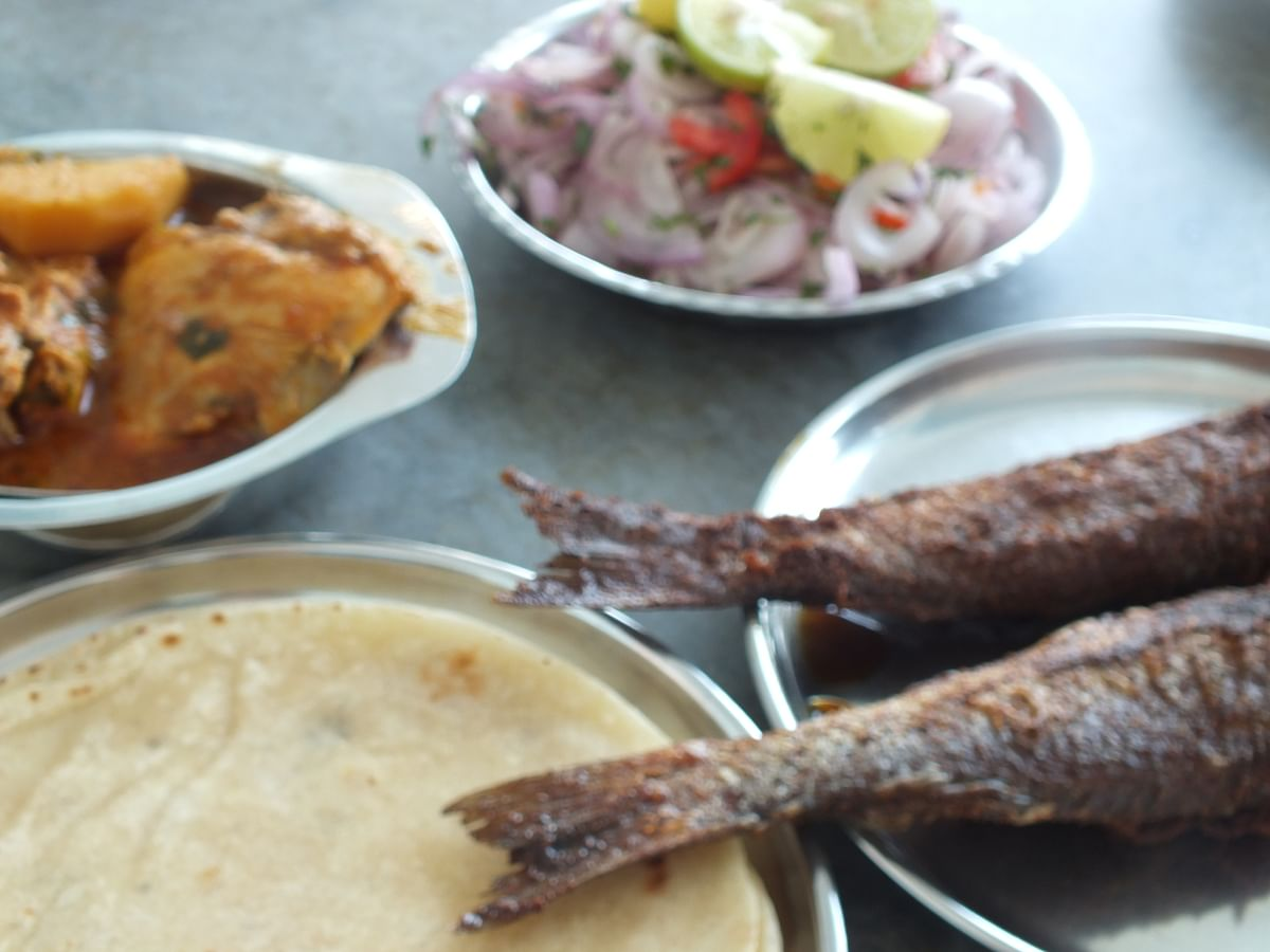 A platter of delicacies.
