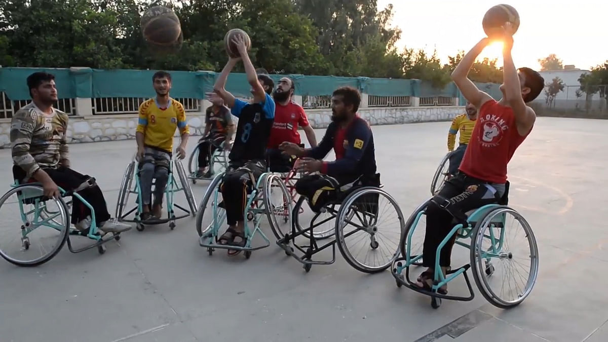 Amid Violence & War, Afghan Para Athletes Keep High Spirits