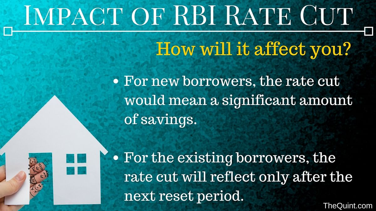 Here's How RBI's New Repo Rate Will Affect Interests on Home Loans